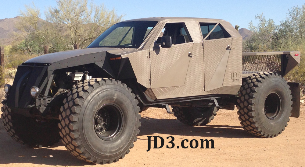 Custom Fabrication Of Lifted Trucks And Jeeps